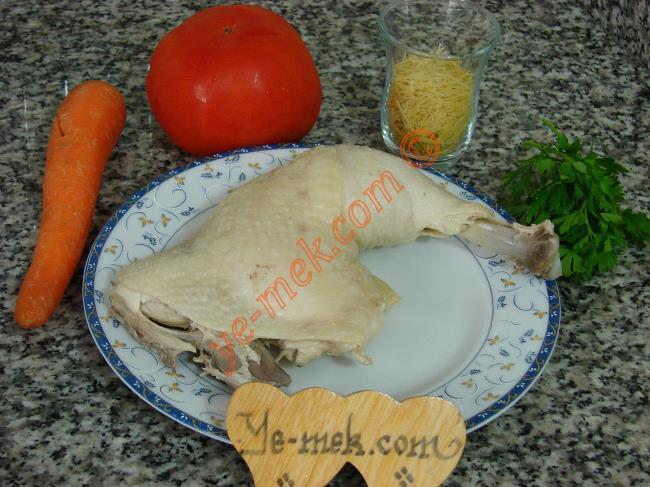 Tavuk Çorbası Malzemeleri