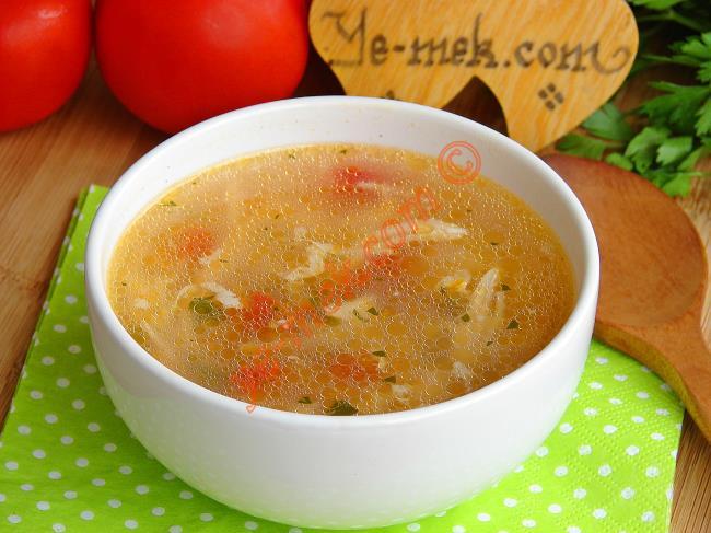 Bu Şifalı Çorbanın En Güzeli Böyle Yapılır : Tavuk Çorbası