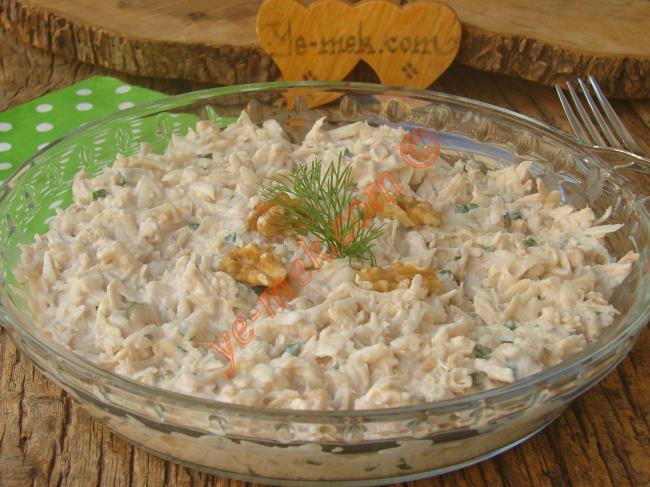 Yoğurtlu Tavuklu Salata Tarifleri