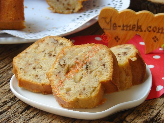 Havuçlu Cevizli Tarçınlı Kek Nasıl Yapılır