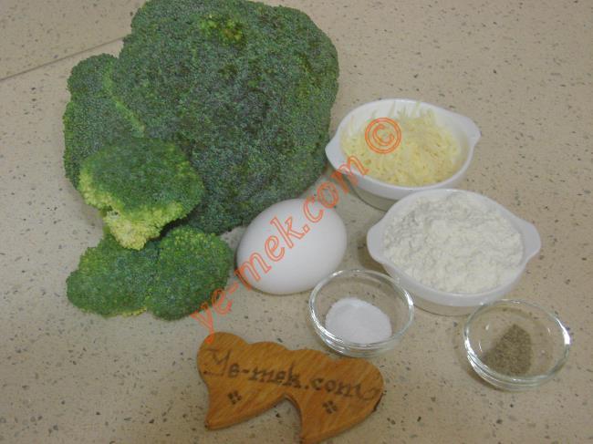 Brokoli Mücver Malzemeleri