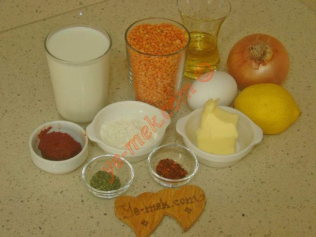 Çeşmi Nigar Çorbası Malzemeleri