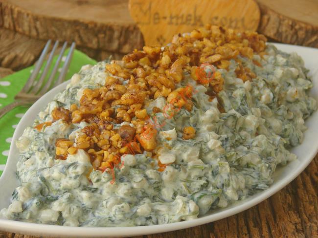 Ispanaklı Salata Tarifleri