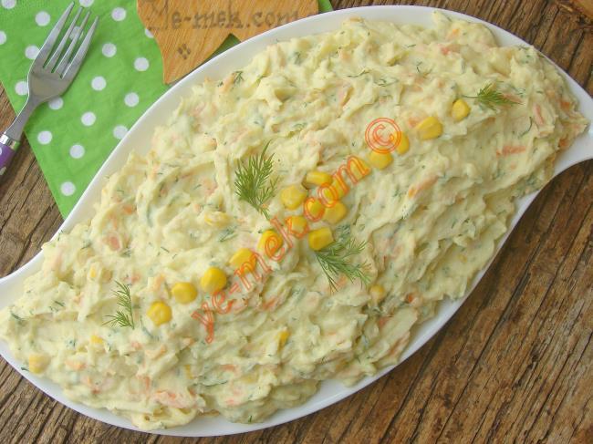 Patatesli Kereviz Salatası
