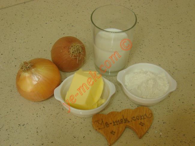 Soğan Çorbası Malzemeleri