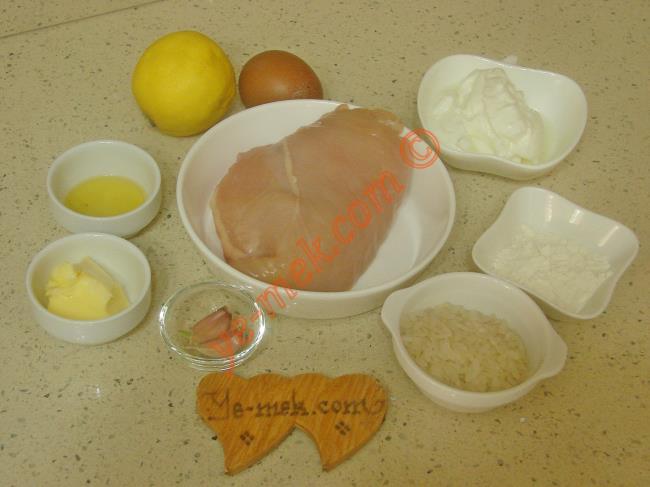 Lokanta Usulü Tavuk Çorbası Malzemeleri