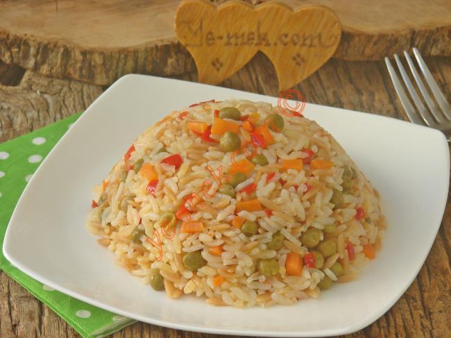 Her Yemeğin Yanına Yakışır, Püf Noktaları İle : Sebzeli Pilav