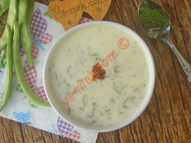 Hafif Ve Besleyici Bir Çorba : Yoğurtlu Taze Fasulye Çorbası