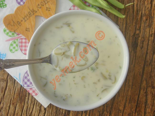 Yoğurtlu Taze Fasulye Çorbası