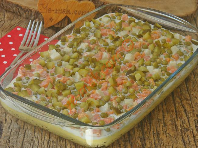 Patatesli Salata Tarifleri