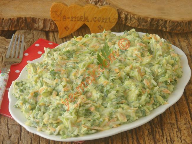 Nefis Bir Sebze Salatası : Havuçlu Nuraniye Salatası