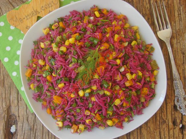 Şalgamlı Pirinç Salatası