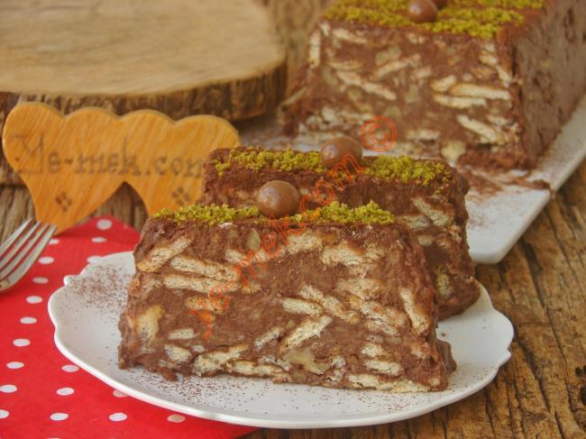 Havuçlu Cevizli Mozaik Pasta