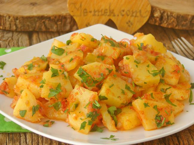 Yoğurt Soslu Patates Kızartması