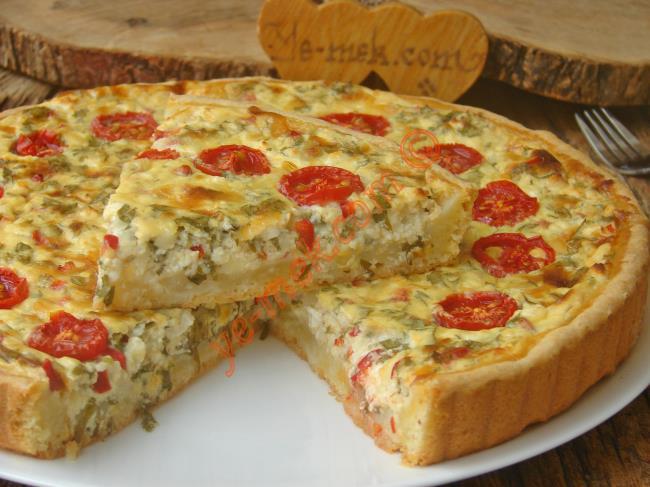 Tabanı Kıyır Kıyır, Bol Peynirli Nefis Bir Lezzet : Peynirli Kiş