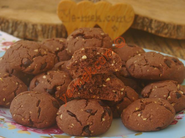 Katı Yağ Kullanmadan Yapabileceğiniz, Nefis Kurabiye : Sıvı Yağlı Kakaolu Kurabiye