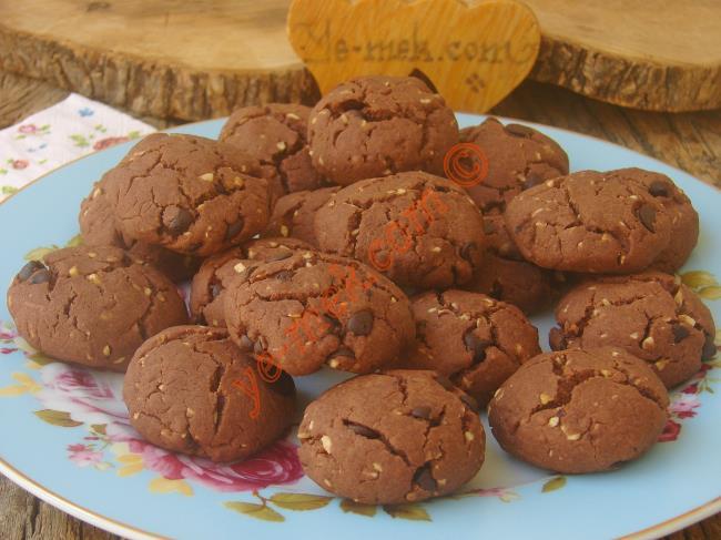 Sıvı Yağlı Kakaolu Kurabiye