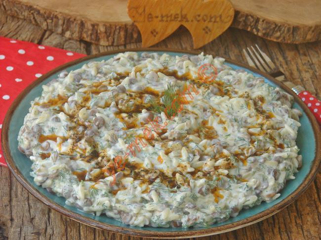 Az Malzemeli, Lezzetli Ve Pratik Bir Salata : Yoğurtlu Mercimek Salatası
