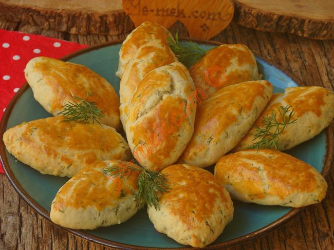Dereotlu Peynirli Poğaça Nasıl Yapılır