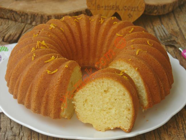 Portakallı Kek Yapılışı