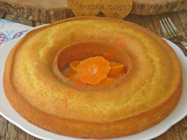 Mandalinalı Kek