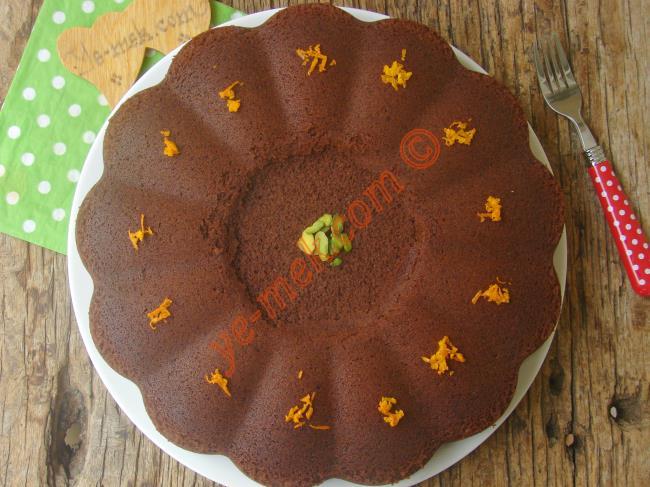 Mis Gibi Portakal Kokan Sünger Gibi Yumuşak Bir Kek : Portakallı Kakaolu Kek