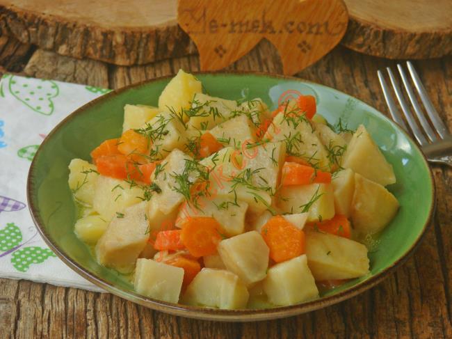 Kerevizin Portakal İle Lezzetli Uyumu : Portakallı Kereviz Yemeği