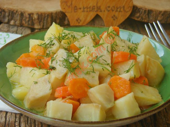 Patatesli Kereviz Yemeği