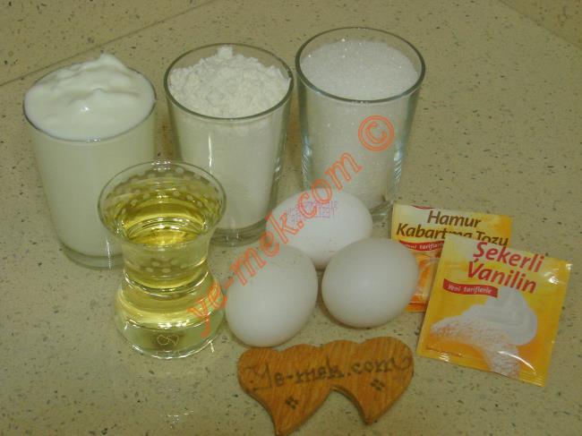 Yoğurt Tatlısı Malzemeleri