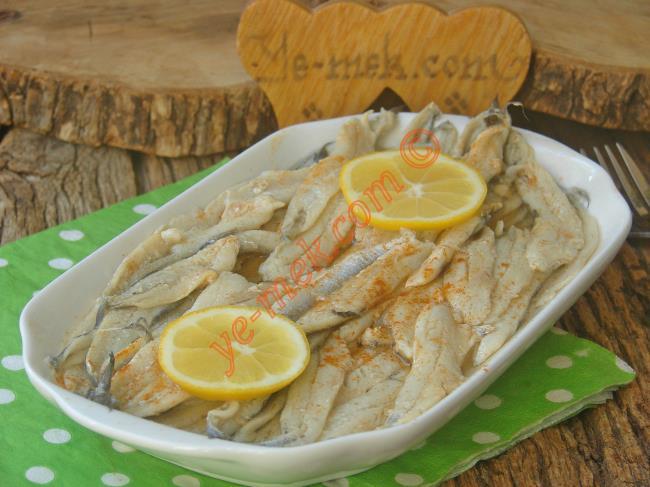Tuzlu Balığın En Lezzetli Hali : Ançüez