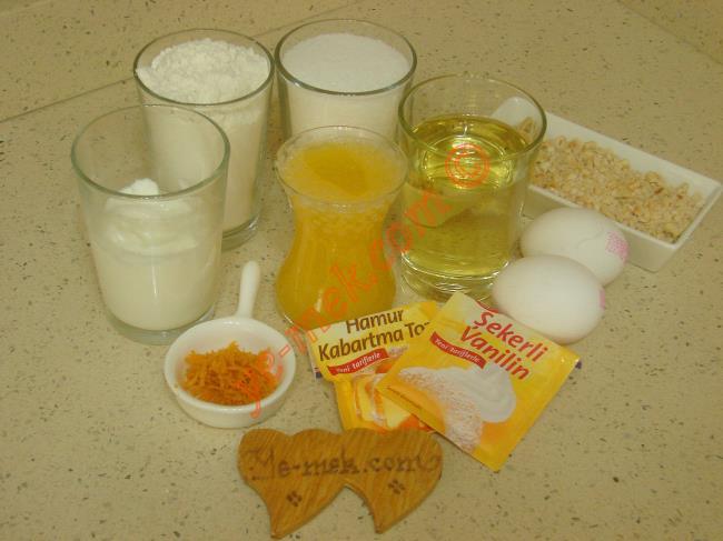 Portakallı Pastane Kurabiyesi - Yapılışı (1/16)