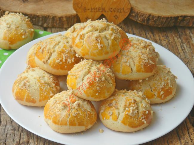Pastanelerde Satılan, İçi Dışı Mis Gibi Portakal Kokan, Nefis Bir Kurabiye : Portakallı Pastane Kurabiyesi