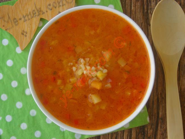 Bol Sebzeli, Lezzetli Ve Bir O Kadar Besleyici : Bulgurlu Sebze Çorbası
