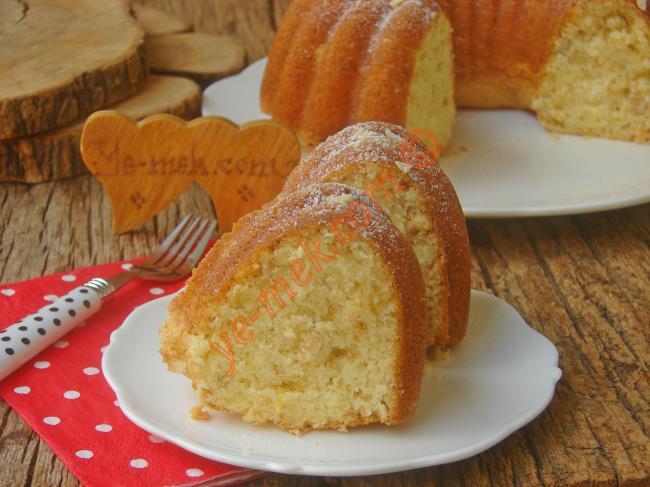 Tadı Nefis, Kokusu Mis Gibi Kokan Bir Kek Tarifi : Limonlu Fındıklı Kek
