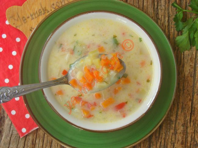 Değişik Sebze Çorbaları