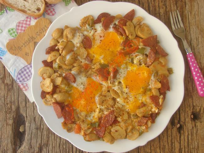 Kahvaltılık Karışık Yumurta