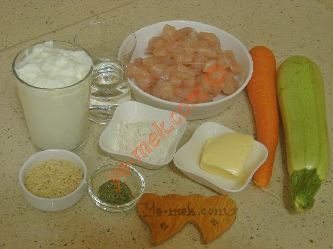 Muradiye Çorbası Malzemeleri
