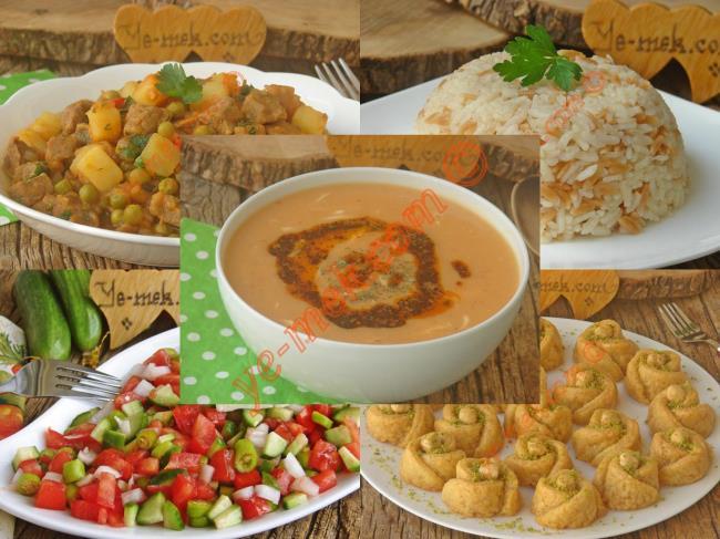 Gün gün ramazan menüleri