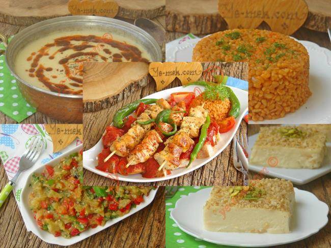 Misafire özel iftar tarifleri