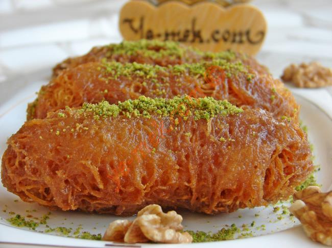 Erzurum Mutfağından Çıtır Çıtır Bir Lezzet : Cevizli Kadayıf Dolması