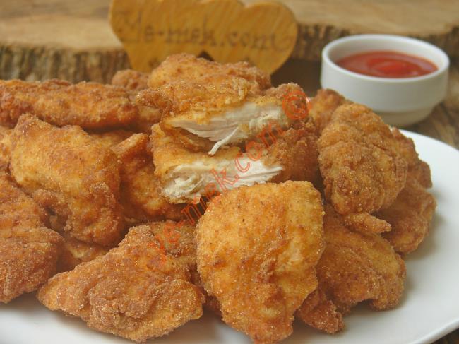KFC ve Popeyesteki Çıtır Tavuklara Taş Çıkaracak Bir Tarif : Çıtır Tavuk Göğsü