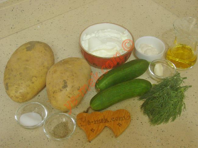 Patates Tarator - Yapılışı (1/12)