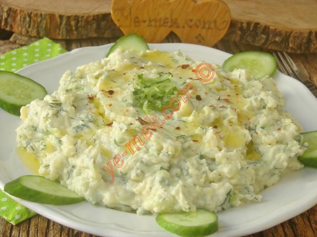 Yedikçe Yedirtecek Lezzet : Patates Tarator