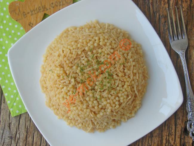 Bulgur ve Pirinç Pilavına En İyi Alternatif : Kuskus Pilavı