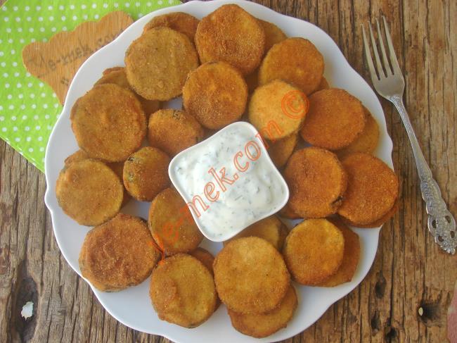 Hiç Yağ Çekmeyen, Puf Puf, Çıtır Çıtır Bir Kızartma Tarifi : Patlıcan Kızartması