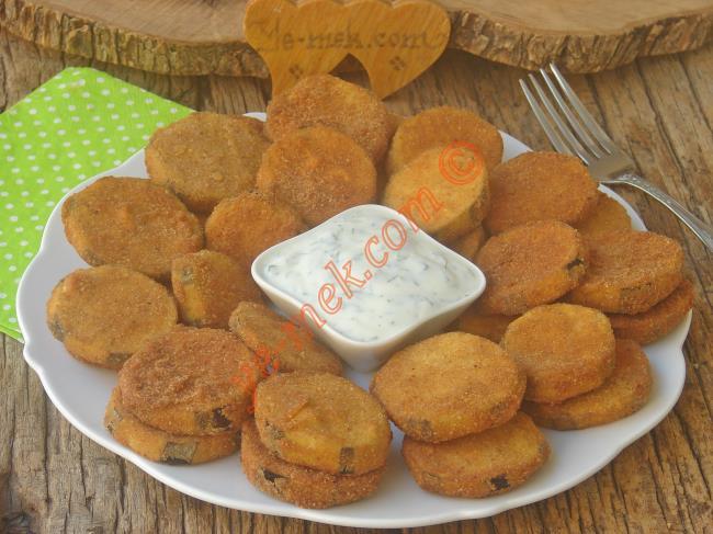 Puf Patlıcan Kızartması