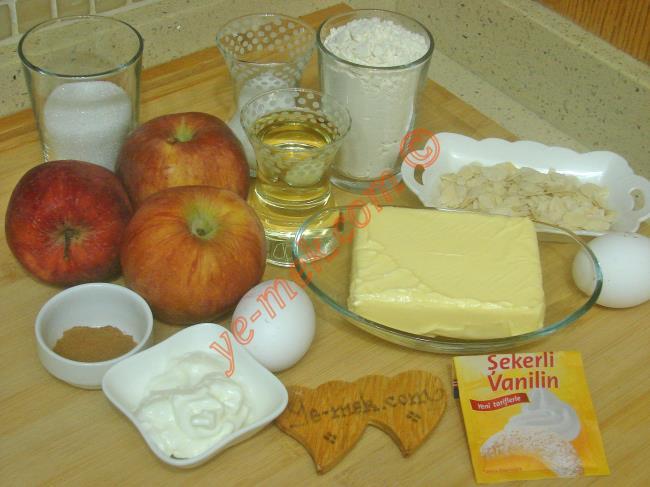Pastane Usulü Elmalı Kurabiye - Yapılışı (1/20)