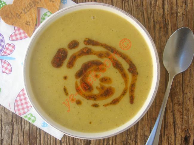 Brokolili Mercimek Çorbası