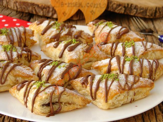Favoriniz Olacak, Puf Puf Çok Pratik Bir Tatlı : Çikolatalı Milföy