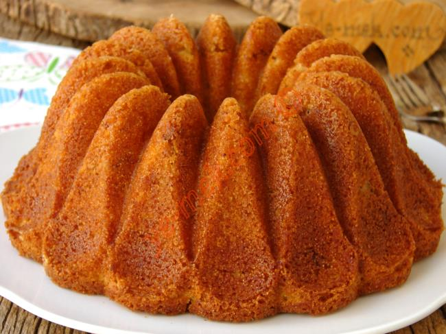 Böyle Özel Bir Kek Bugüne Kadar Yapmamışsınızdır : İrmikli Kek